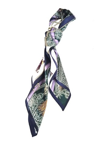 100% Silk Square Scarf Smooth and Soft Female 48